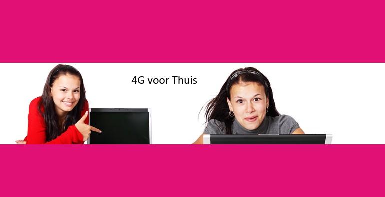4G voor thuis – T-Mobile doet alternatief voor traag en kudt internet