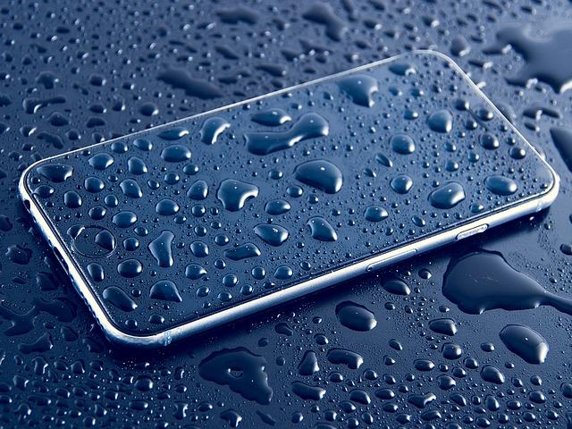Waterschade aan je telefoon repareren