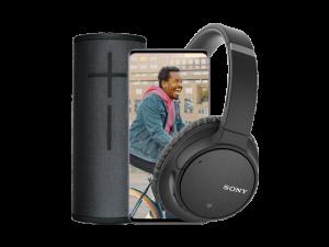 black friday deal t-mobile, gratis speaker of koptelefoon